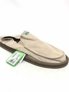 Sanuk-Homme-a-Choisir-Poche-Tx-Trottoir-Surfeurs-Fauve-Chambray-Slip-Chaussures