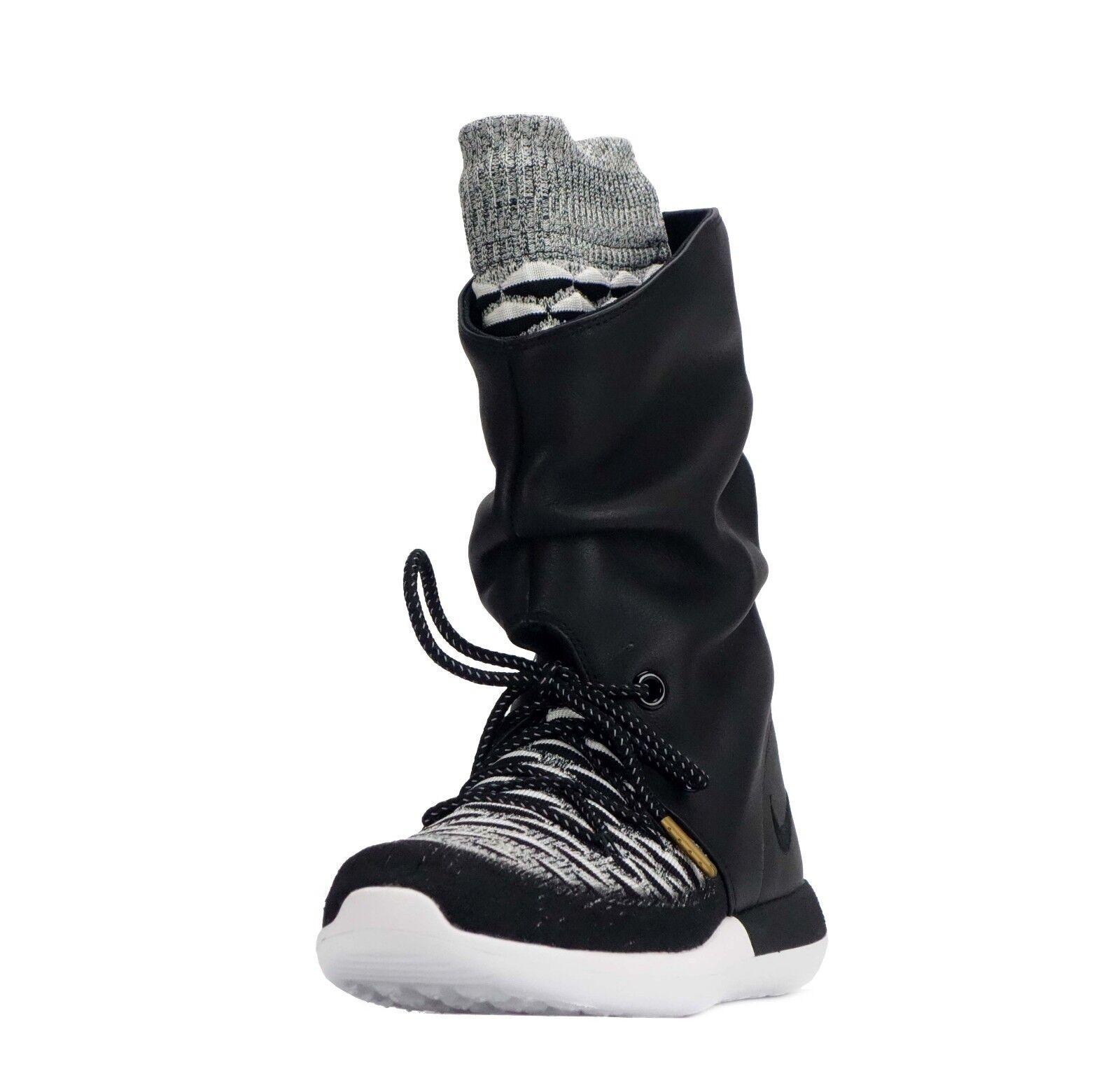 Nike Roshe zwei hi Flyknit Damen Damen Wandern Freizeit Wandern Damen Modische Schuhe schwarz 2309b0