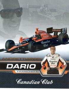 2007-Dario-Franchitti-Canadian-Club-Honda-Dallara-Indy-Car-postcard