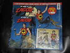 ZAGOR E LA MUSICA-FASCICOLO + CD -ANCORA SIGILLATO- LINGUA ITALIANA + HO CD TEX