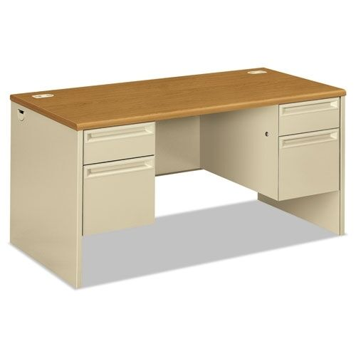 HON Series Double Pedestal Computer Desk Honcl EBay - Hon computer table