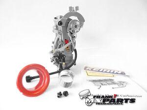 Details zu Keihin FCR 35 Flachschieber Vergaser / pitbike spring tuning  upgrade carburetor