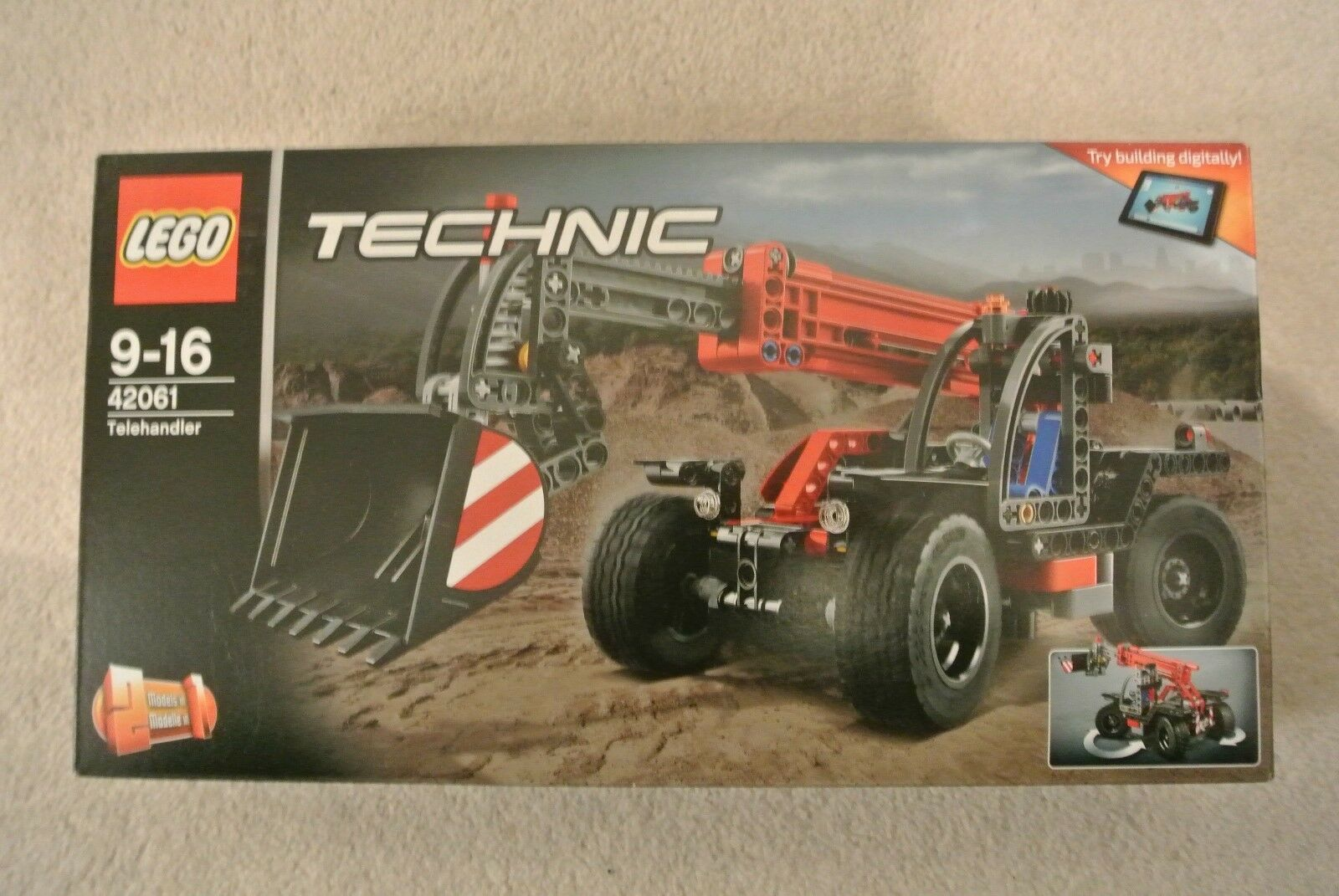 Lego Technic 42061 - Telehandler - BRAND NEW FACTORY SEALED
