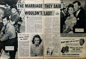 Stewart Granger & Jean Simmons The Marriage They Said Wouldn't Last Article 1957
