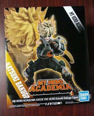 Banpresto My Hero Academia Enter The Hero Katsuki Bakugo Statue
