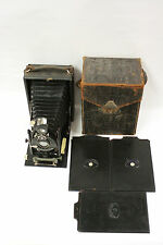 ICA Maximar 207 folding camera with 13.5cm 6.8 Hekla lens w/3 holders and case