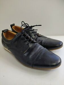 Black Leather Formal Shoes Size 9.5