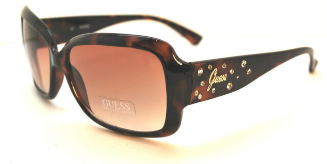 NEW GUESS GUF 229 BRN-34A Brown Authentic SUNGLASSES Free Shipping 58-15-125