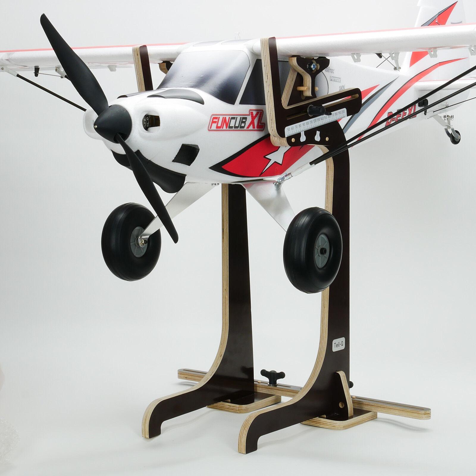 Parte-Q difícil punto báscula XXL negro Edition, para vela avión, f3b, vuelo de arte