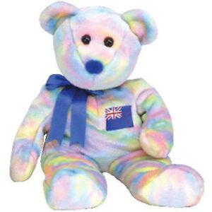 ac3a0f1f1a3 TY Beanie Buddy - KIWIANA the Bear (Asian-Pacific Exclusive) - MWMTs ...