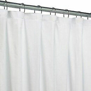 Royal Crest Shower Curtain Liner White