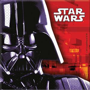 Klassisch Star Wars Party Papierservietten X 20 Darth Vader Yoda