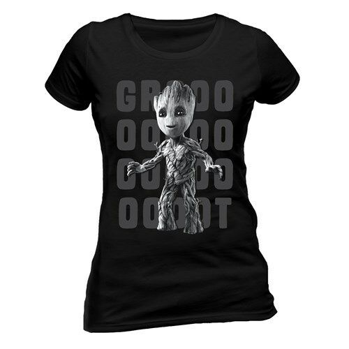 Official Marvel T Shirt Avengers Guardians Of The Galaxy Groot Infinity War