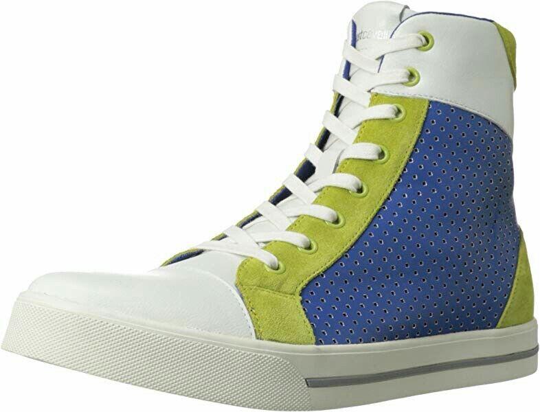 Just Cavalli Men's Perforated High Top Fashion scarpe da ginnastica Dimensione 10 US