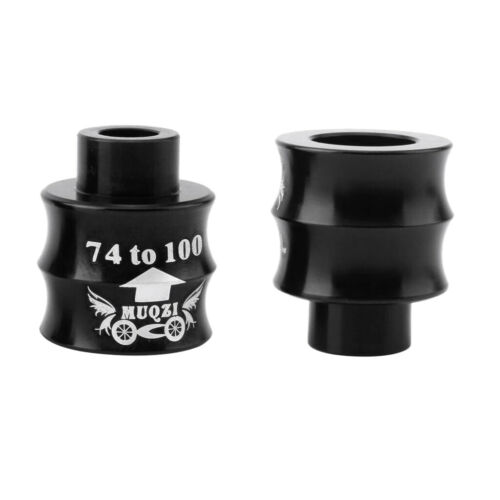 Bike Front Hubs Axis Conversion Seat 74mm to 100mm Thru Axle Tube Connector