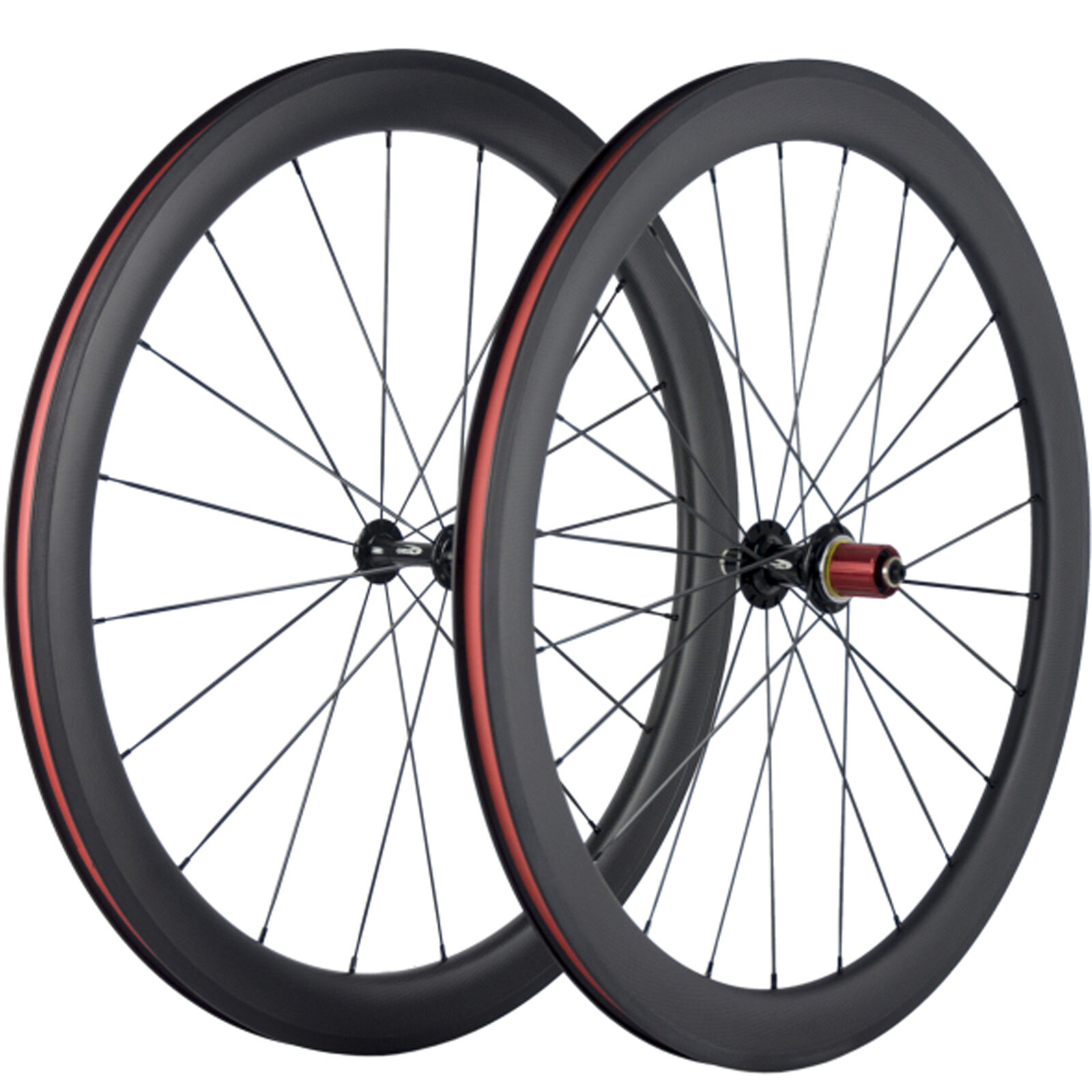 Carbon Wheelset Clincher Basalt  Braking 50mm Carbon Road Bike Wheels Chosen 5047  fast delivery and free shipping on all orders