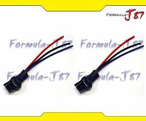 s l300 wire harness miniature pigtail male 7443 t20 two cables light bulb pigtail wiring harness at reclaimingppi.co
