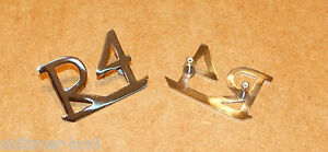 Matched Set of Perko Brand Chrome Side Mount Rowlock Sockets #1186-DP-CHR