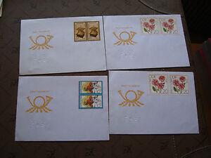 Germany-Rda-4-Envelopes-cy87-Germany