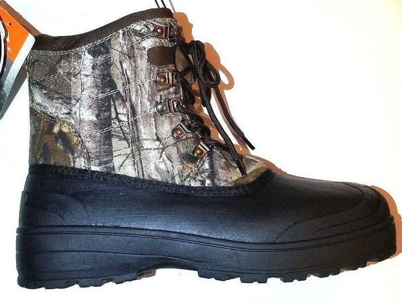 New Ozark Trail Men's Camo Winter Pac Boots  Cold Weather Rated to -5 F NICE