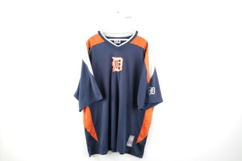 90s vintage Damion Easley Detroit Tigers #9 jersey  Large  Majestic