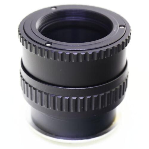 Pixco M42 Screw Lens to Fujifilm FX Mount X-Pro1 Adapter Macro Focusing Helicoid