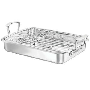 NEW Chasseur Maison Roasting Pan with Rack 35cm x 26cm