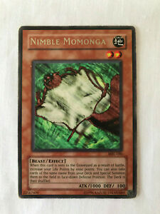 Unlimited Rare MRL-086//SRL-086 Yugioh: Nimble Momonga LP