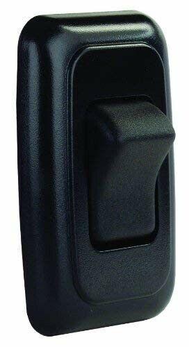 Jr Products 12225 Preta único interruptor on//off Com Placa