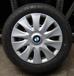 4-BMW-Winterraeder-3er-F30-F31-BMW-205-60-R16-92H-M-S-ORIGINAL-RADKAPPEN
