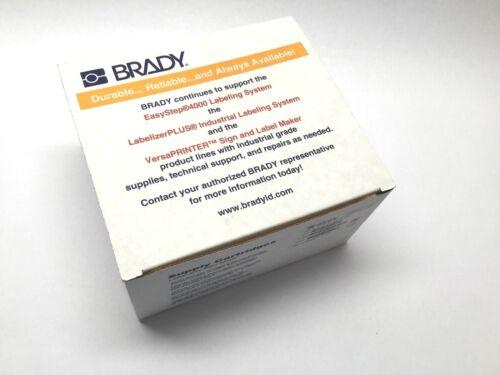 """Brady LabelizerPLUS 142748 Black On Yellow B595 2.25/"""" Inch x 90/' Foot 57MM x 27M"""