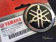 YAMAHA 3D Emblem F250XCA Outboard 4.2L Metal Tuning Fork Logo 6AW-42697-10-00