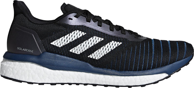 Adidas Zapatos de hombre para correr refuerzo de Unidad Solar blancoo Negro Deportes Zapatillas Entrenadores