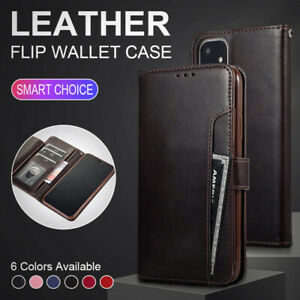 Case for Apple iPhone 11 Pro 6 7 8 6s 7s Plus X XS Max Phone Leather Flip Wallet