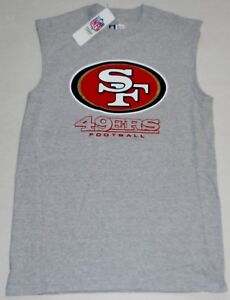 d40c261cb SAN FRANCISCO 49ers NFL TEAM APPAREL MUSCLE T SHIRT TANK TOP MENS ...