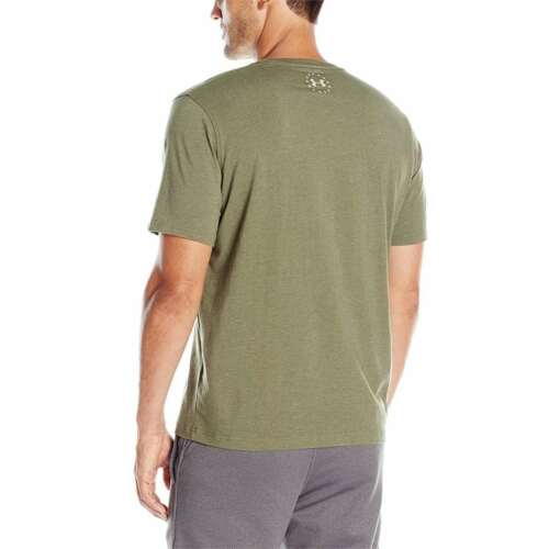 Under Armour Men Tshirts Freedom T-Shirt Green