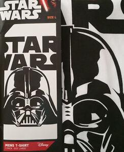 Star-Wars-Darth-Vadar-Mens-T-Shirt-Tee-Shirt-Top-Licensed-Disney-Force-Awakens