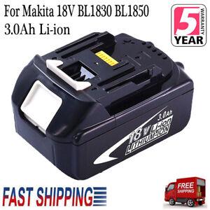 18V-3-0-AH-BL1830-Lithium-Ion-Battery-for-MAKITA-BL1830B-BL1845-BL1815-LXT-New