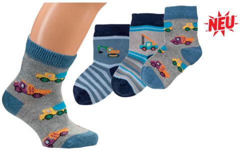 BAGGER 56700 Söckchen Jungen Socken Größe 86-92 3er Pack Baby