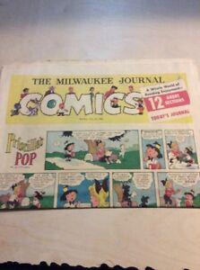 Sunday-Comics-Newspaper-Section-MILWAUKEE-Journal-JULY-24-1960