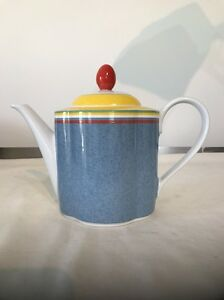 VILLEROY & BOCH SWITCH 1 GALLO DESIGN 1 3/4 PINT TEAPOT - EXCELLENT ...