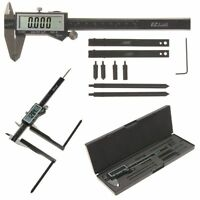 Digital Caliper 6 Brake Drum/rotor Gauge Jaw Attachment Adapter Extension on sale