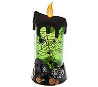 Bethlehem Lights Halloween Flameless Candle & Timer In Opened Box H200438