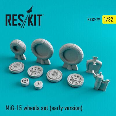 early version resin wheels Kit 1//48 Scale ResKit RS48-0079 MiG-15
