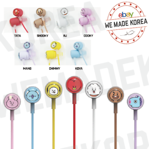 BT21-Character-IN-EAR-Earphone-7types-Official-K-POP-Authentic-Goods