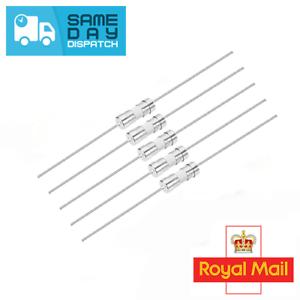 Golpe Rápido Fusible de Vidrio 3.6mm X 10mm-F1a250v Rápido 1 Amp Cable Axial