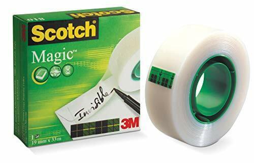 3m Scotch Magic 81019Mm x 33M Transparent Schreibwaren und Klebeband für ...