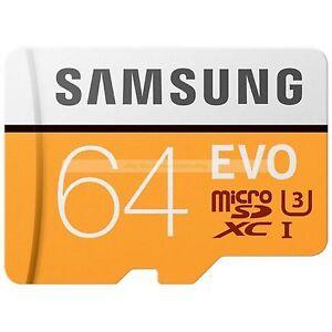 Samsung-Micro-SDXC-64GB-EVO-de-100MB-s-Leer-tarjeta-de-memoria-flash-Nuevo-ct-ES