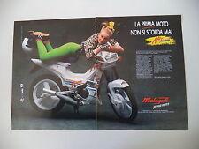 advertising Pubblicità 1990 MALAGUTI FIFTY MISTRAL 50
