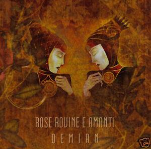 ROSE-ROVINE-E-AMANTI-Demian-CD-Thronstahl-Ianva-Spiritual-Front-Egida-Aurea